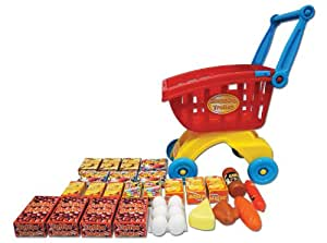 Kriya Ltd Supermarket Shopping Trolley With Groceries