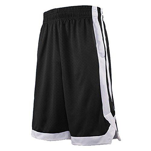 TopTie Pantalones Cortos Baloncesto Hombres Bolsillos