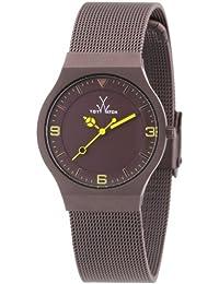 ToyWatch Unisex-Armbanduhr Analog Edelstahl MH08BR