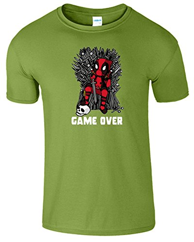 Deadpool Herren Thrones Parodie Spiel Zu Ende Kinder T-Shirt Kiwi