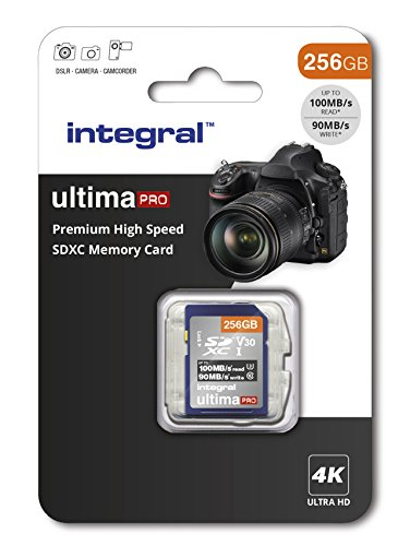 Integral insdx256g 256 GB Premium High Speed SDXC-Speicherkarte
