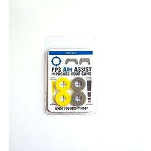FPS AIM ASSIST Zubehör für PS4Controller, Gelb