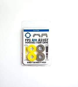 FPS AIM ASSIST Accessoire pour Manette de PS4 Jaune