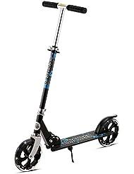 Ancheer Erwachsene Cityroller Scooter | 200mm Räder Roller Klappbar und Faltbar, Höhenverstellbarer City-Roller Tret-Roller für Jugendliche und Kinder ab 12 Jahre bis 100kg