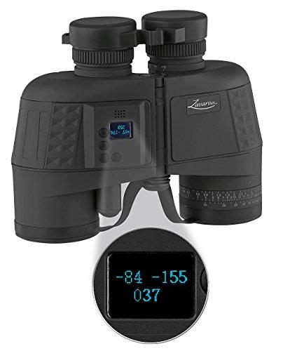Zavarius Entfernungsmesser: Wasserdichtes Marine-Fernglas 7x50 mit OLED-Display, 91% Transmission (Fernglas mit Entfernungsmesser)