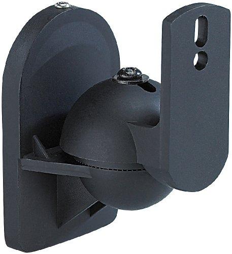 auvisio Kompakt-Halterung für Satelliten-Lautsprecher im 4er-Pack - 2