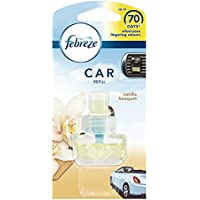 Febreze 7 ml Car Vanilla Bouquet Air Freshener Refill - Pack of 6 - ukpricecomparsion.eu