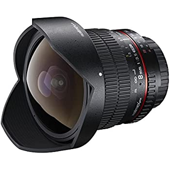 Walimex Pro Fish-Eye II 8 mm 1:3.5: Amazon.es: Electrónica