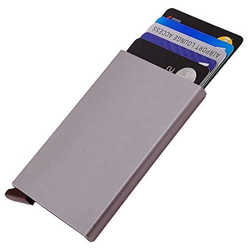 19aadefdd Dlife Ultra Delgada Carteras de Aluminio Cartera,Tarjeteros para Tarjetas  De Crédito RFID,Cartera