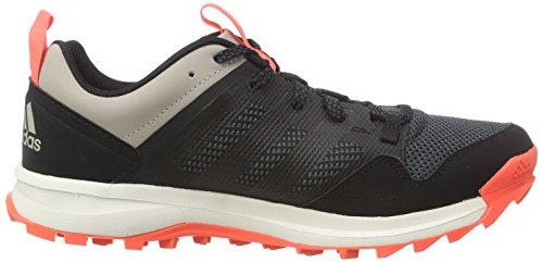 adidas Kanadia 7 Trail, Chaussures de Running Entrainement Homme Noir (core Black/core Black/solar Red)