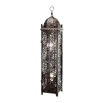 Large Antique Style Moroccan Floor Lamp - Vintage Antique Style Perfect for All Living Rooms & Bedrooms - Superb Quality