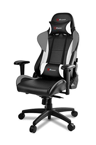 Arozzi Gaming Stuhl Verona Pro V2 Schwarz/Grau/Weiß