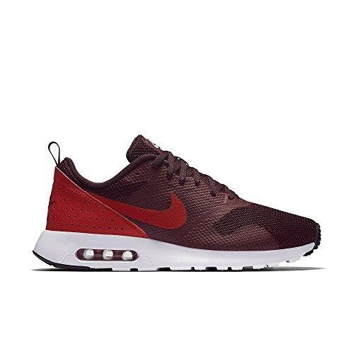 Nike Schuhe Air Max Tavas Herren night maroon-gym red-black-white (705149-604), 44, rot