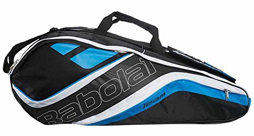 Babolat Schlägertasche Racket Holder X12 Team Line Blue, blau, 76 x 45 x 32 cm, 109 Liter, 751120-136