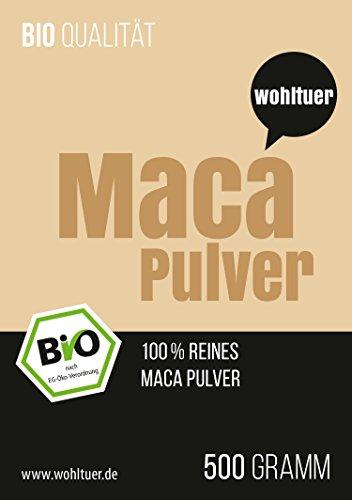 Wohltuer Bio Macapulver 500g – In Rohkostqualität!