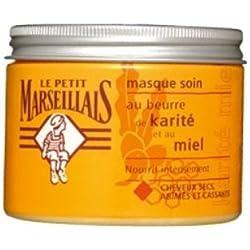 Le Petit Marseillais Haarkur mit Shea und Honig für trockenes sprödes Haar 300 ml aus Frankreich