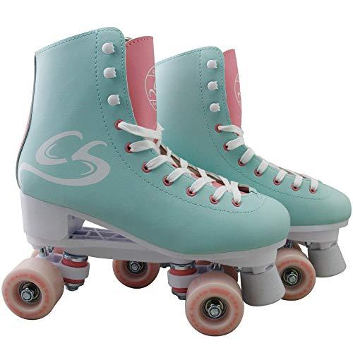 Cox Swain Kinder-/ Damen Rollschuhe - Lexi - Rollerskates- ABEC5, Colour: Mint Green, Size: 42