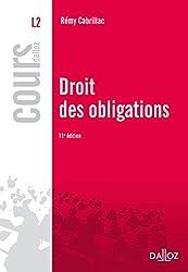 Droit des obligations - 11e éd.