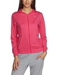 PUMA Trainingsjacke Gym Loose Cover Up - Chándal de fitness para mujer, color morado, talla L