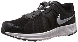 Nike Mens Revolve Black,Metallic Silver,Dark Grey,White Running Shoes -11 UK/India (46 EU)(12 US)