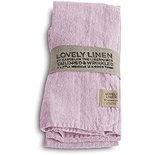 1079aeec02 Lovely Linen NL0141 Lovely Serviette Leinen Dusty pink (1 Stück)