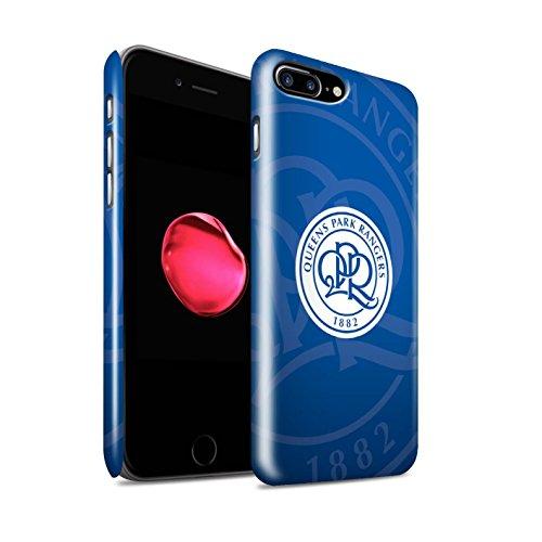 Officiel Queens Park Rangers FC Coque / Clipser Brillant Etui pour Apple iPhone X/10 / Bleu Royal Design / QPR Crête Club Football Collection Bleu Marin