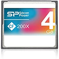 Silicon Power 4GB Compact Flash Speicherkarte 200x Speed