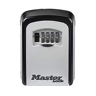 MASTER LOCK Key Safe [Medium Size] [Wall Mounted] - 5401EURD - Key Lock Box