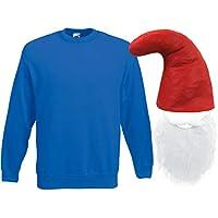 Amazon.it  costume puffo adulto - Cappelli per adulti   Cappelli  Giochi ... 5df679acb682