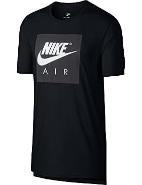 Nike 892313, Camiseta para hombre, Hombre, 892313, negro/blanco, Large