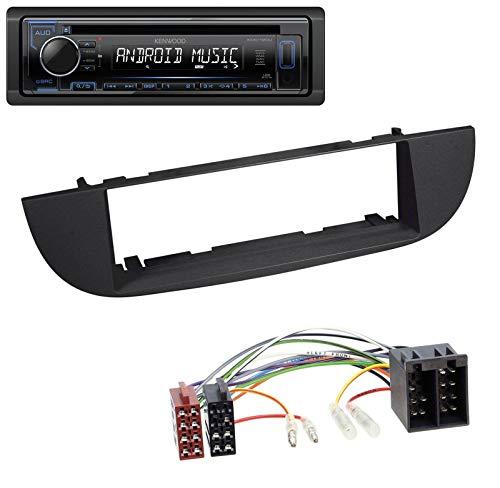 caraudio24 Kenwood KDC-110UB 1DIN MP3 USB CD AUX Autoradio für FIAT 500 (ab 2007) - schwarz