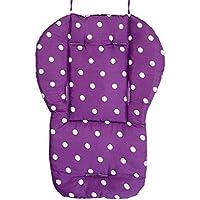 NGHXZ Almohada Cochecito, Fresca y Confortable colchón Transpirable Amortiguador Universal para sillas de Ruedas, Suave del bebé Paseo, cochecitos, Silla Paseo Coche