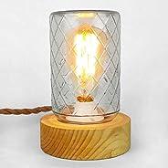 Lámpara faro de vidrio