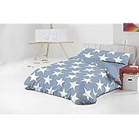 FUNDA NÓRDICA cama 105 cm AZUL modelo STAR