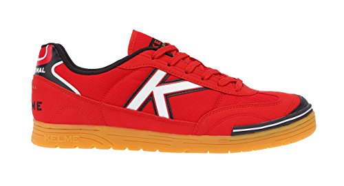 Kelme Trueno Sala, Chaussures de Football Mixte Adulte Rouge (Rojo 130)