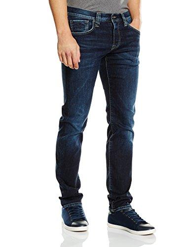 Pepe Jeans Herren Slim Fit Jeans Cane, Blau (PM200072Z45), W36/L32 (Denim Stickerei Pocket)
