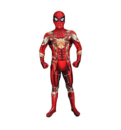 Iron Man Cosplay Kostüm Halloween Event Anime Kostüm Dress Up Requisiten Kinder Erwachsene ()