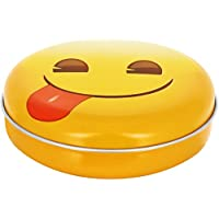 Promobo Aufbewahrungsbox Pillendose leer Westentaschenformat Décor Piktogramm Emoji Passwort die Sprache preisvergleich bei billige-tabletten.eu