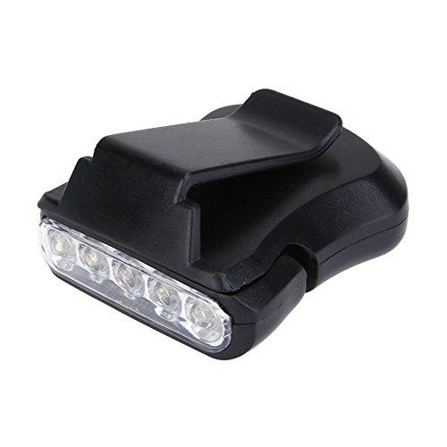 Broadroot 5LED Clip Cap Light Acampar Aire Libre Senderismo