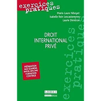 Exercices pratiques - Droit international privé