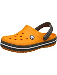 crocs Unisex-Kinder Crocband K Clogs, gelb, 30 EU