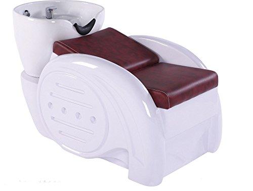 Bobo Angel Backwash Chair Salon Bowl Shampoo Equipment Sink Unit Double Drain Beauty Stylist Station BOSH00217