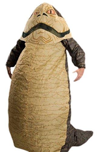 Fancy Ole - Herren Männer Jabba der Hutte Kostüm, Karneval, Fasching, S-L, Mehrfarbig