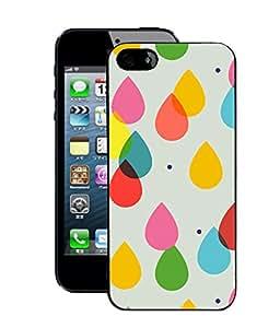 Crazymonk Premium Digital Printed Back Cover For Apple I Phone 5S