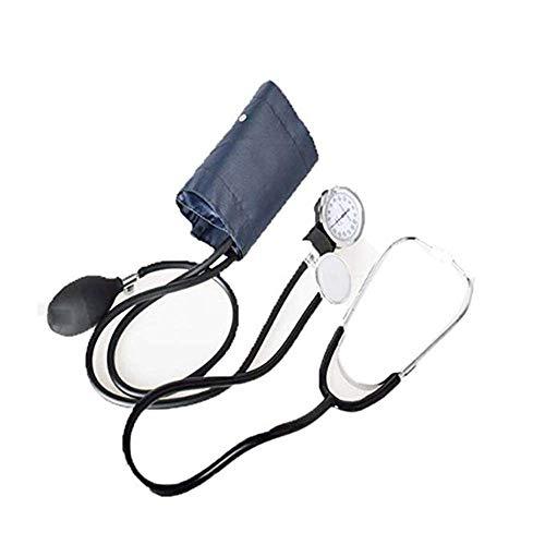 Blutdruckprüfer - Oberarmmanschetten-Gerät - Stethoskop und Tragetasche, Erwachsenen-BP-Messgerät-Kit, Messuhr und Messuhr - für Zuhause und das Büro -