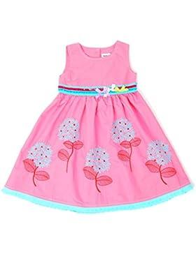 Nova - Mädchen Sommerkleid mit Pusteblumen Stickerei - 100% Baumwolle