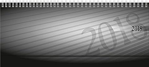 rido/idé 703610290 Tischkalender/Querterminbuch septant, 2 Seiten = 1 Woche, 305
