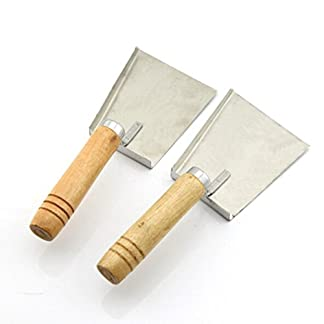CHENGYIDA Pack of 2PCS Bee Honey Shovel Scraper Hive Tool 12