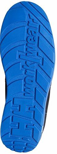 Helly Hansen Chaussures de sécurité S3Frogner 78252Chaussures tendance, en cuir noir, noir, 78252 Noir/orange