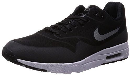 Nike 001, Baskets Basses Femme Noir (Black/Black/Metallic Silver/White)
